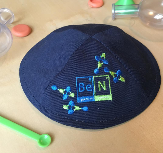 science logo kippah